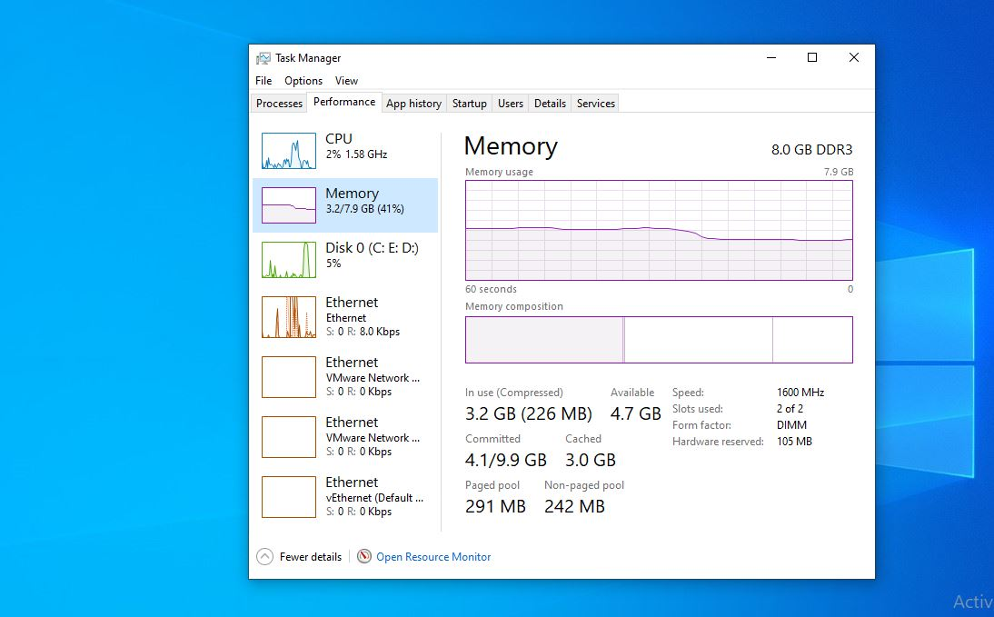 How to clean your ram windows 10 without