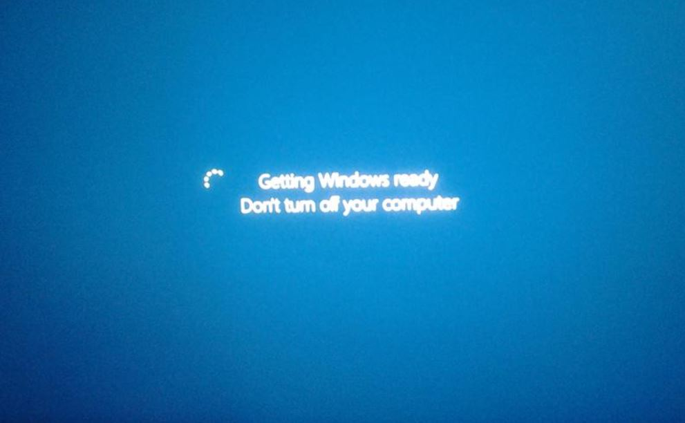 Solved: Getting windows ready stuck after install windows ...