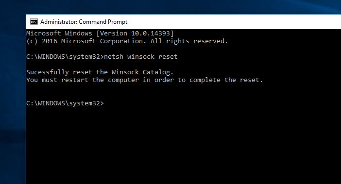 Failed to connect to registry
