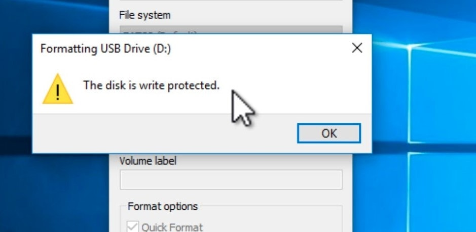 how to remove write protection from usb and sd card 2020